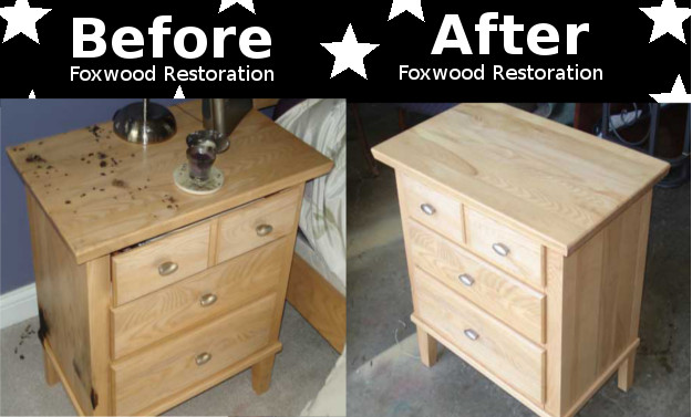 Furniture Repairs Before and After