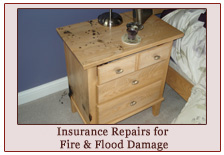 Insurance Repairs for flood and fire