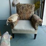 before chair repair
