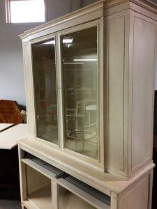 Distressing Furniture Cabinet
