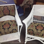 French Style Wicker Chairs